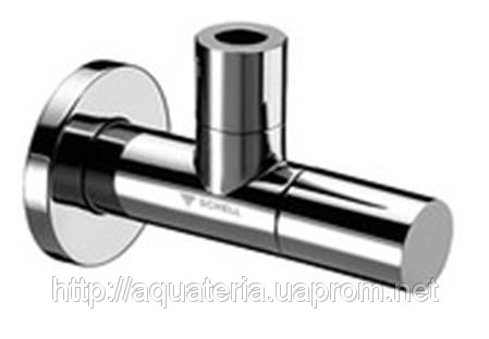 SCHELL DESIGN -LINE Кутовий вентиль 1/2» х 3/8», хром