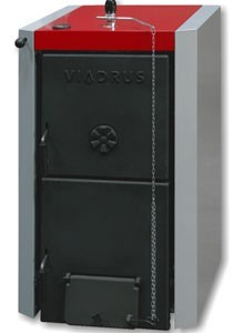 Твердопаливний котел Viadrus Hercules U22 C (D) — 9 секційний —  52,3 кВт