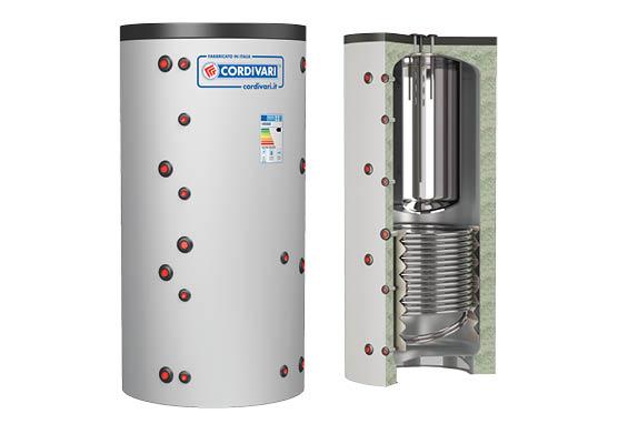 Теплоаккумулятор Cordivari COMBI 2 WB HE 600